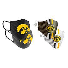 Colosseum Collegiate NCAA Team Logo Face Covering 4-Pk - Iowa