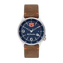 Columbia Men's Canyon Ridge Auburn Saddle Leather Strap Watch
