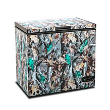 Commercial Cool Chest Freezer Stand Up 7.0 Cubic Feet - Camouflage