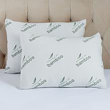 Concierge Collection 2-pack Rayon from Bamboo Knit Bed Pillows - Jumbo