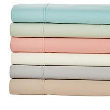 Concierge Collection Wrinkle Warrior 4-pc 400TC 100% Cotton Sheet Set