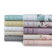 Cottage Collection 650TC Eyelet Cotton-Rich Sheet Set