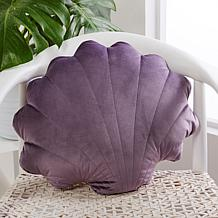 Cottage Collection Coastal Shell Decorative Pillow