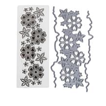 Crafter's Companion Blossom and Flower 4-piece Stamp and Die Set