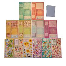 Crafter's Companion Bright Blooms Double Dutch Card Making Kit