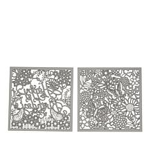 Crafter's Companion Create A Card Die Set - Garden