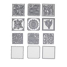 Crafter's Companion Create-A-Card Floral Patchwork Die Sets