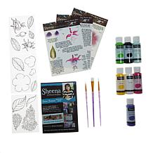 Crafter's Companion Sheena Paint Fusion Bundle - Country Garden