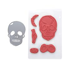 Crafter's Companion Sugar Skull Die and Stamp Set