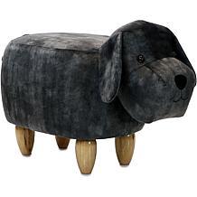 "Critter Sitters 14"" Plush Animal Ottoman - Dog"