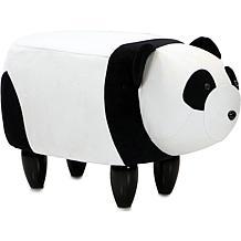 """Critter Sitters 14"""" Plush Animal Ottoman - Panda"""