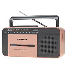 Crosley CT102A Portable Cassette Player w/Bluetooth, Radio & Recorder