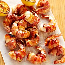 Curtis Stone 30-count Bacon-Wrapped Jumbo Shrimp