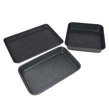 Curtis Stone Dura-Bake® 3-piece Bakeware Set
