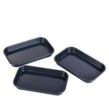 Curtis Stone Dura-Bake Set of 3 Micro Sheet Pans