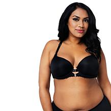 Curvy Couture Tulip Collection Front/Back Close T-Shirt Bra
