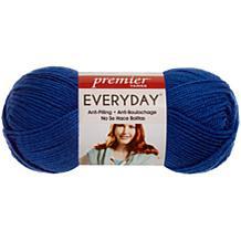 Deborah Norville Everyday Solid Yarn - Royal Blue