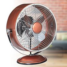 DecoBreeze Retro Swivel 2-Speed Fan