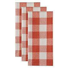 Design Imports Buffalo Check Kitchen Towels 3-pack