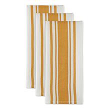 Design Imports Chef Stripe Kitchen Towels 3-pack