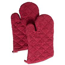Design Imports Terry Oven Mitt Set of 2