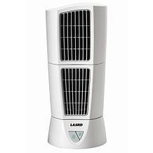 Desktop Wind Tower Fan - White