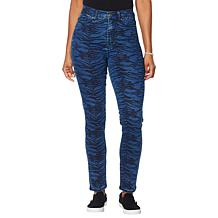 DG2 by Diane Gilman Virtual Stretch Printed Skinny Jean