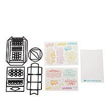Diamond Press Confetti Launcher Card Kit
