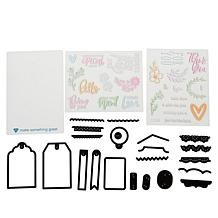 Diamond Press Create a Gift Tag Stamp and Die Set