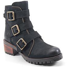Diba True Roll Around Leather Moto Boot