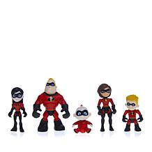 Disney Incredibles2 Super Heroes Family Set