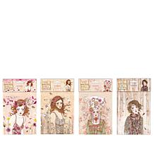 "Docrafts ""Willow"" Rubber Stamps Collection"
