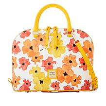 Dooney & Bourke Bloom Zip Zip Satchel