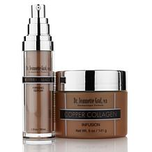 Dr. Jeannette Graf M.D. Copper Collagen Infusion and Serum Duo