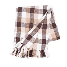 Dunmore Plaid Cocoa Throw