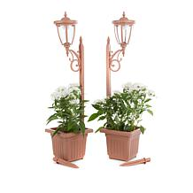 FieldSmith 2-pack of Solar-Powered Planter Lights