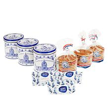 Finger Licking Dutch Holiday Stroopwafel Gift Set 3-pack