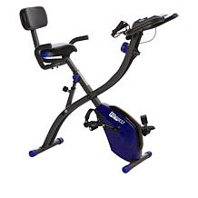 FitQuest Upright Flex Express and Recumbent Bike with Resistance Bands