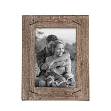 """Foreside Home & Garden 5x7"""" Wood Picture Frame with Nail Accents"""