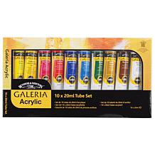 Galeria 10-pack Acrylic Paint - Assorted Colors