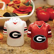Gameday Ceramic Salt and Pepper Shakers - Georgia