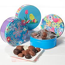 Giannios 3-pack of 1 lb. Assorted Chocolates in Easter Tins