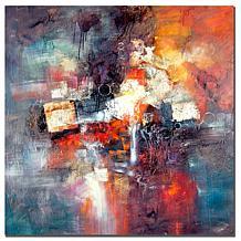 Rio 'Cube Abstract III' Canvas Art Print