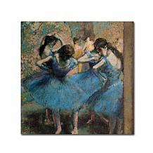 Edgar Degas 'Dancers in Blue, 1890' Giclee Print