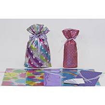 Giftmate 14-Piece Drawstring Girlfriends Gift Bag Set
