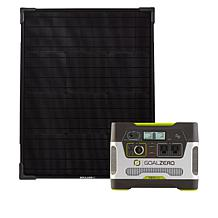 Goal Zero Yeti 400 Power Station with 50W Solar Panel