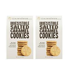 Golden Door Irresistible Cookies 2pk - Salted Caramel