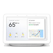Google Home Hub Voice-Activated Smart Assistant Speaker w/Touchscreen