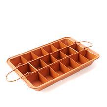Gotham Steel Max Brooklyn Brownie Pan w/Separator and Easy-Lift Tray
