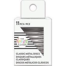 Happy Planner Medium Metal Expander Discs 11/Pkg - Silver